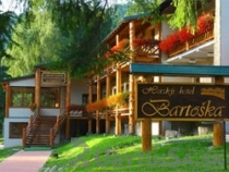 Mountain hotel Bartoška